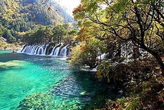 Национальный парк Цзючжайгоу в Чэнду