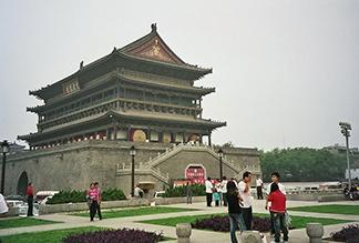 Колокольная и Барабанная Башни в Сиане