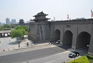 Городская стена династии Мин в Сиане