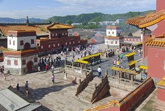 Храм Пунин в Чэндэ