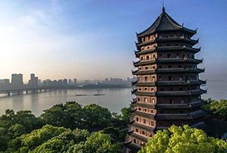 Пагода Шести Гармоний Люхэта в Ханчжоу