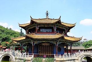 Золотой Храм в Куньмине