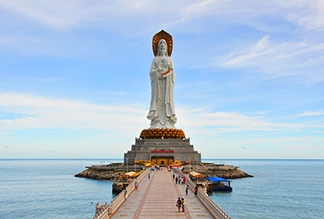 Центр Буддизма Наньшань на Хайнане