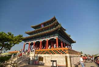 Парк Цзиншань в Пекине