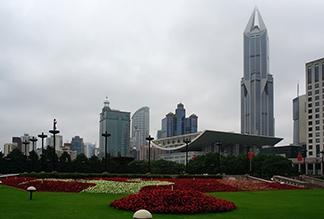 Народная площадь Шанхая