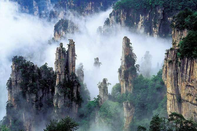 Гранд тур + горы Аватар (Чжанцзяцзе) авиа