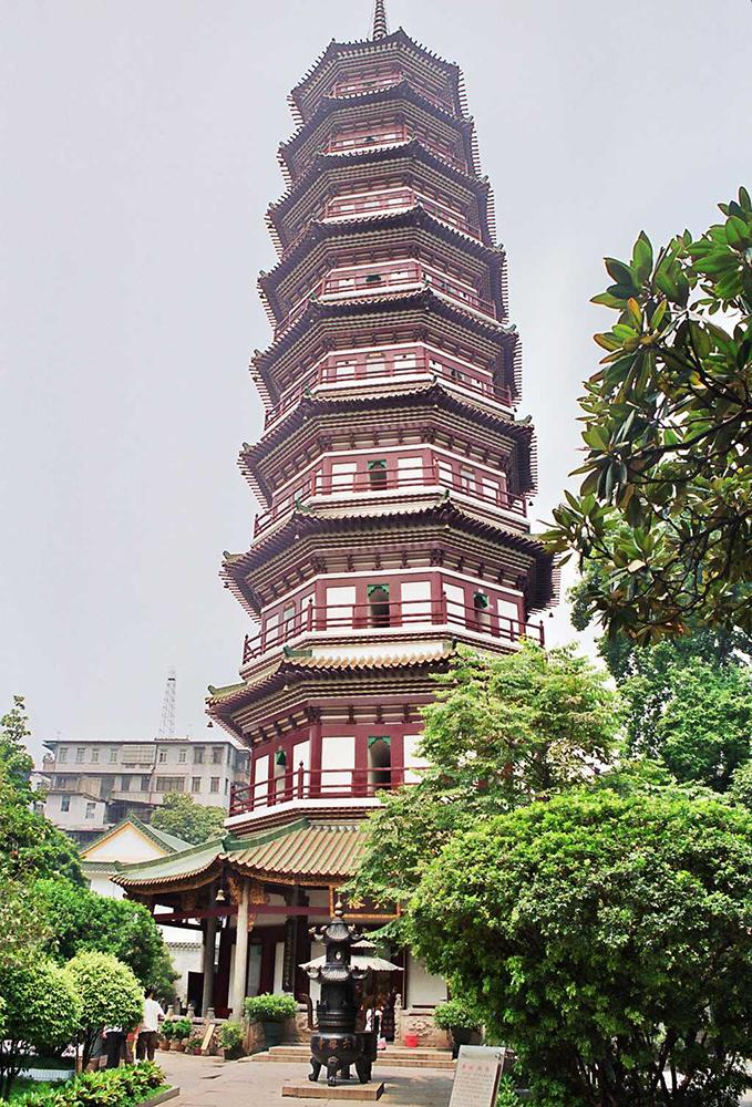 Храм шести смоковниц Люжунсы