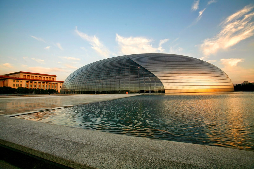 Национальный центр исполнительских искусств в Пекине