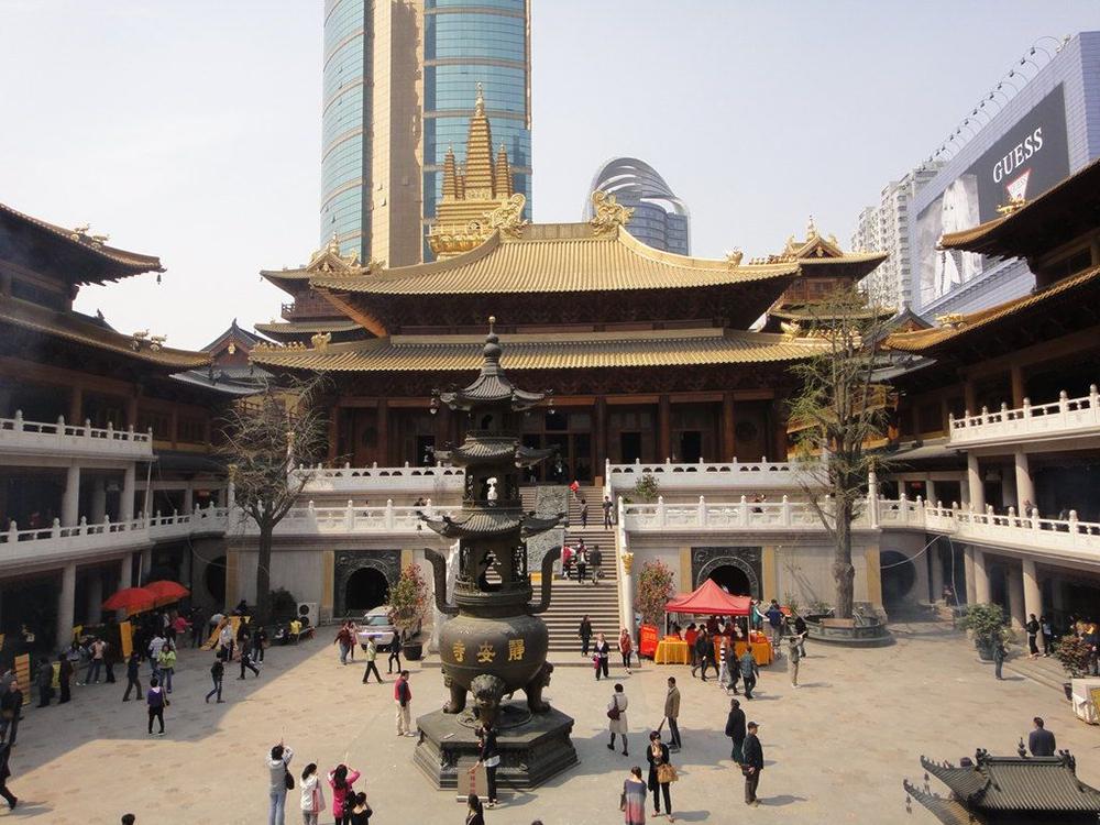 Монастырь Цзинань в Шанхае