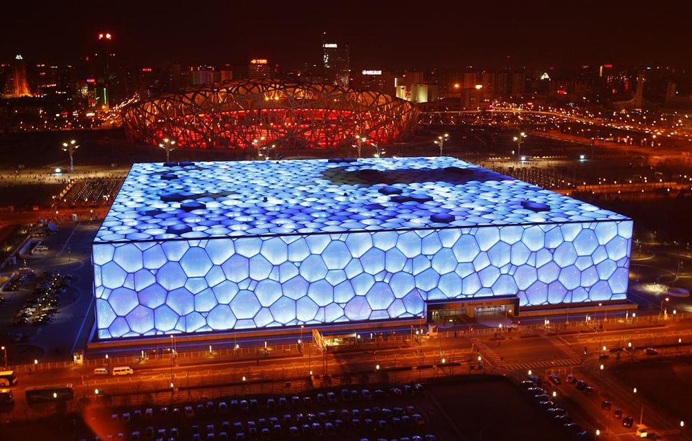 Национальный водный центр в Пекине