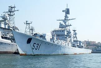 Военно-морской музей в Циндао