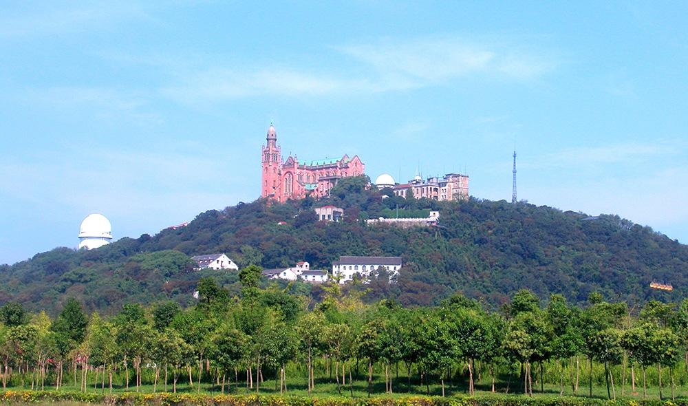 Гора Шэшань в Шанхае