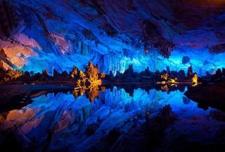 Пещера Тростниковой Флейты в Гуйлине