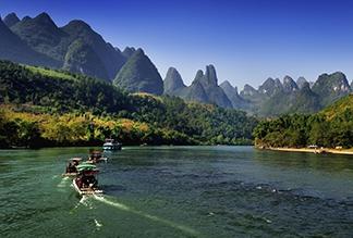 Река Лицзян в Гуйлине