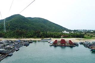 Остров обезьян Наньвань в Санье