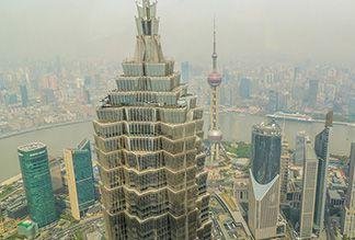 Башня Цзинь Мао в Шанхае