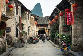 Древний город Хуан-яо в Гуйлине