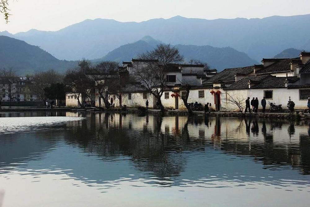 Древняя Туньси в Хуаншане