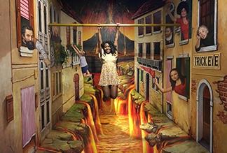 Музей Оптической Иллюзии в Гонконге