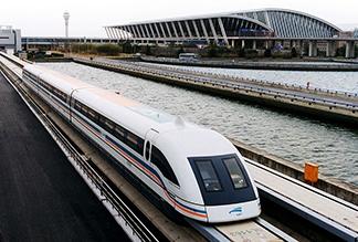 Поезд Маглев в Шанхае
