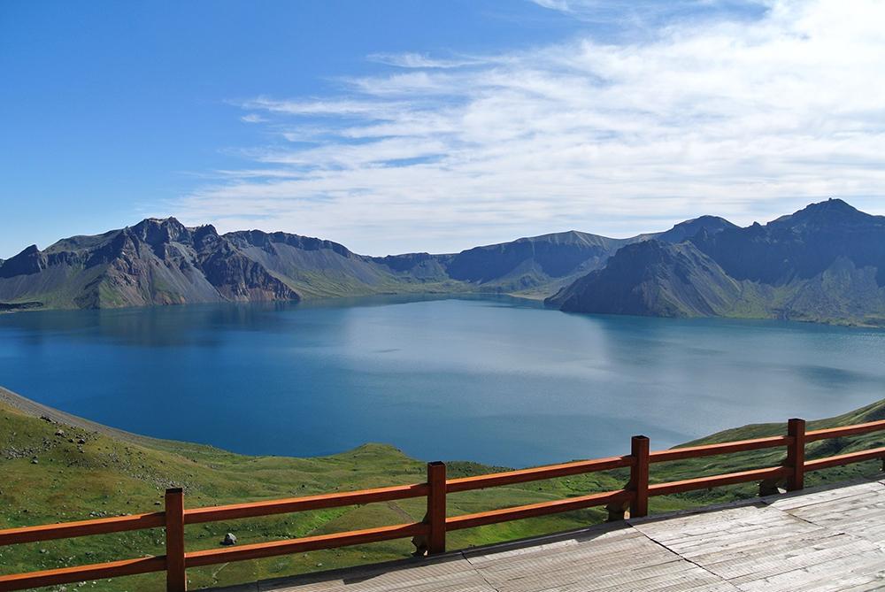 Горы Чанбайшань в Китае