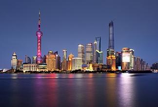 Река Хуанпу в Шанхае