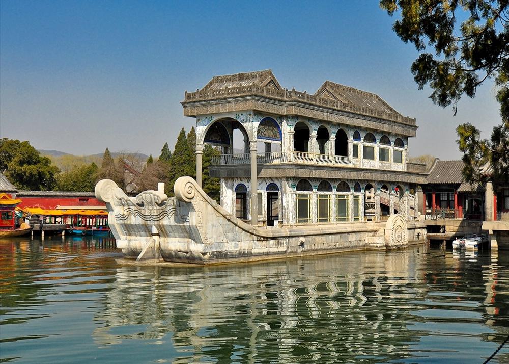 Мраморная ладья в Пекине