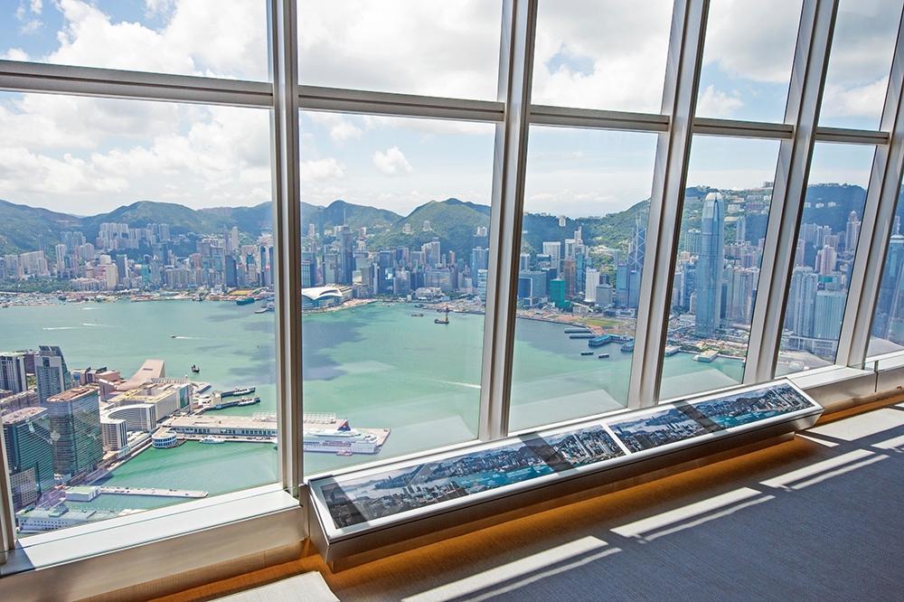 Смотровая площадка Sky 100 в Гонконге