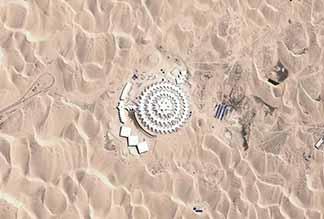 Desert Lotus – отель среди пустыни в Китае