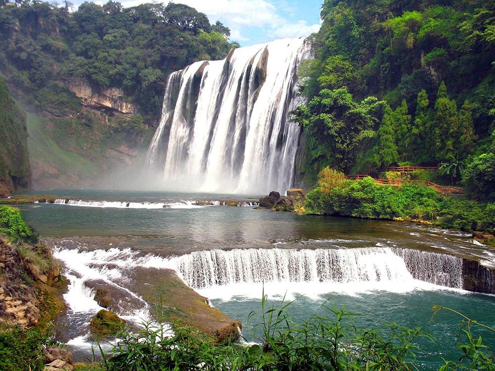 Водопад Хуангошу в Китае