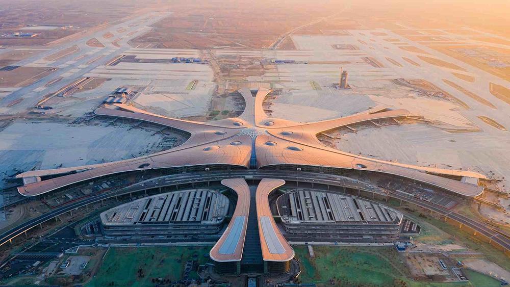 Новый аэропорт Дасин в Пекине