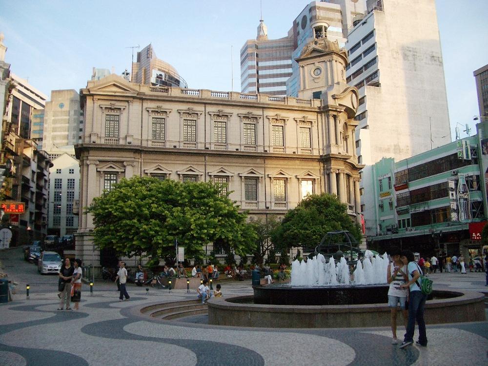 Площадь Сенадо в Макао