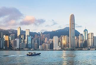 Гавань Виктория в Гонконге