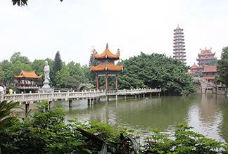 Храм Сичань в Фучжоу