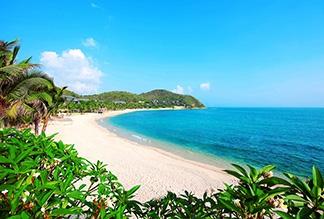 Пляж Ялонг Бэй на острове Хайнань