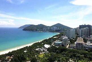 Пляж Дадунхай на острове Хайнань