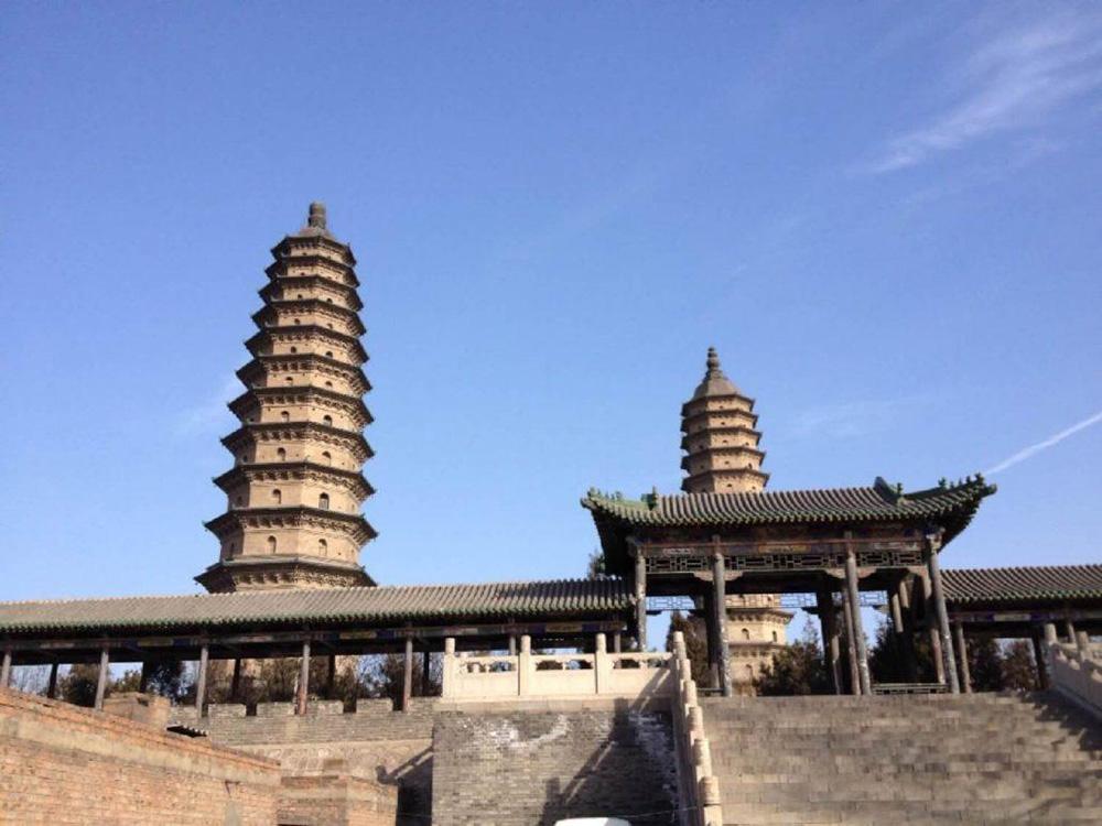 Храм Двух Пагод в Тайюане