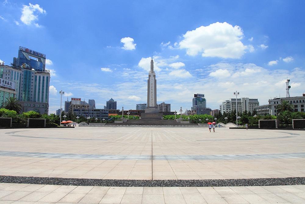 Площадь Байи в Наньчане