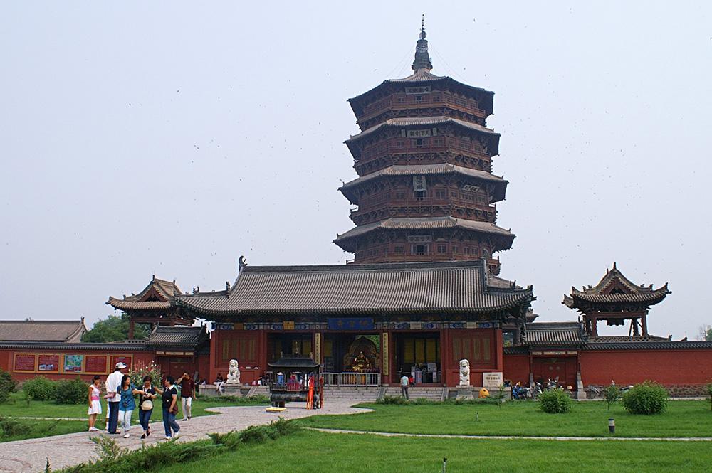 Пагода Шакьямуни в Тайюане