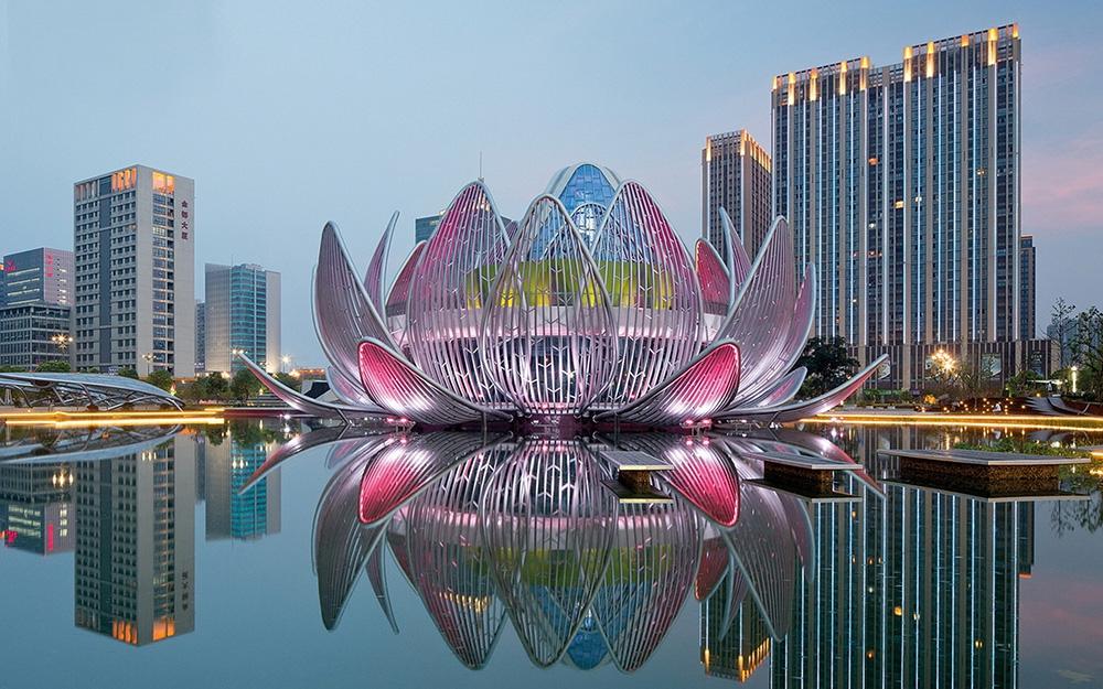 Здание лотос в Чанчжоу, Китай