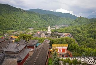 Гора Утайшань в Тайюане