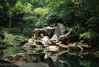 Тигровый родник в Ханчжоу, Китай