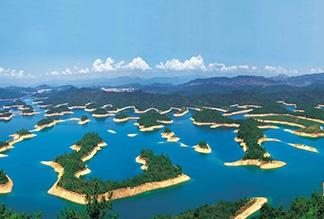 Озеро тысячи островов Цяньдаоху, Китай