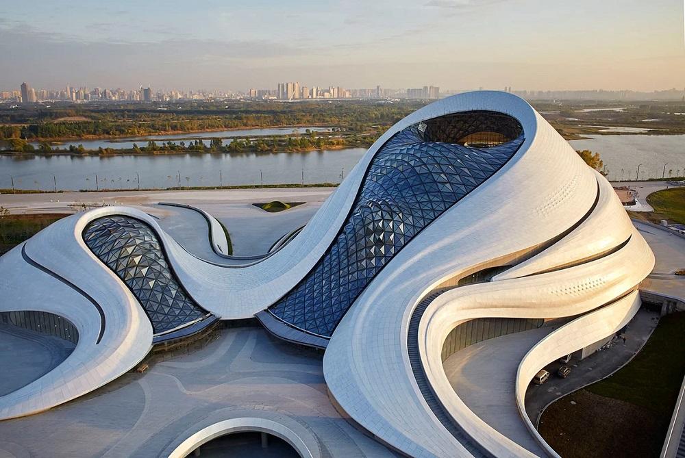 Оперный театр в Харбине, Китай