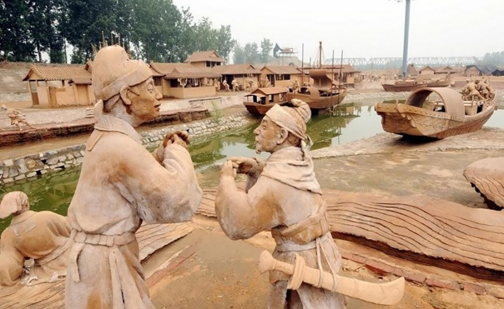 Парк глиняных скульптур в Таншань