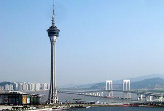 Башня Макао в Китае