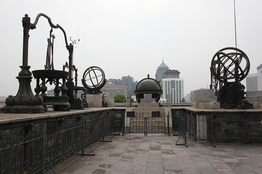 Древняя Пекинская обсерватория