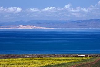 Озеро Кукунор в Китае