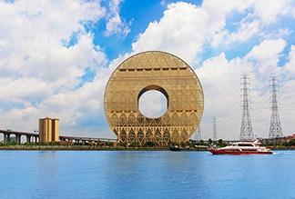 Здание Гуанчжоу-Юань в Гуанчжоу