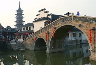 Мост Пуджи в Сучжоу